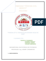 Informe Numero 2 Grupo 1 Electronica De