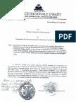 Rapport Enquête sur attentat du commissariat des Cayes impliquant Guy Philippe