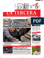 Diario La Tercera 05.07.2016