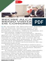 05-07-16 RECIBE ALCALDE REGIO VISITA DE CONGRESISTA