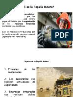 (8) Regalía Minera UTP