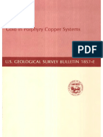 USGS Bulletin 1857 - Gold in Porphyry Coppers Systems [by.geolibros]