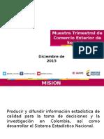 Presentación MTCES IV 2015