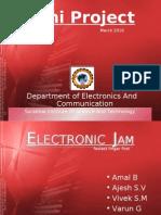 Mini Project Electronic Jam