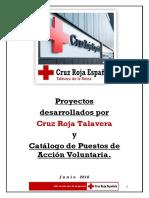 Proyectos y Puestos de Acción Voluntaria Cruz Roja Talavera