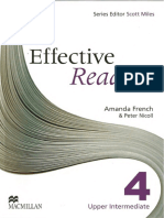 Effective Reading Upper Intermediate