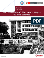 Historia representativas de la violencia en el Perú