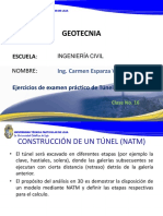 Clase 16 Ejercicios Con Plaxis Para Tuneles