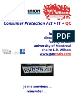 Consumer protection in a digital context