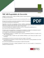 Resumen Nic 40 2012