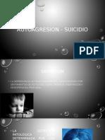 AUTOAGRESION - SUICIDIO