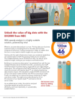 Unlock the value of big data with the DX2000 from NEC