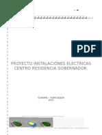 PROYECTO INSTALACIONES ELECTRICAS  RESIDENCIA.docx