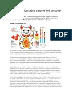 Asia y América Latina Serán El Eje de Poder Económico