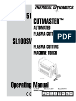 Manual Plasma Cutmaster 51
