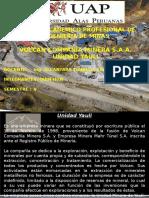 Volcan Compañia Minera Unidad Yauli S.A.A