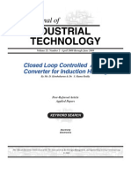 Closed Loop Controlled AC-AC Converter for Induction Heating