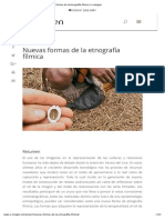 Nuevas Formas de La Etnografía Fílmica _ E-imagen