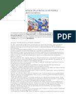 e3a572 La Historia Contada de La Batalla de Puebla