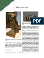 Wikipedia - Historia Del Gato