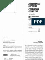 (AntiDemidóvich) Matemática Superior. Problemas Resueltos. Variable Compleja_ Funciones de Variable Compleja.