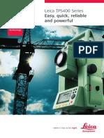 TPS400 Brochure En