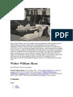 Walter William Skeat 1835-1912