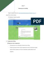 Anexo 7 Manual Uso Del Blog