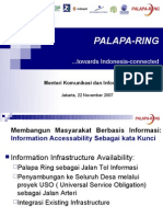 PALAPA-RING...towards Indonesia-connected