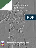 Reglas Oficiales de Sófbol Edición 2014-2017