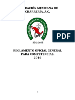 Reglamento fmch 2016