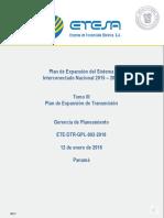 Tomo III Plan de Expansion Del Sistema de Transmision 2015-2029