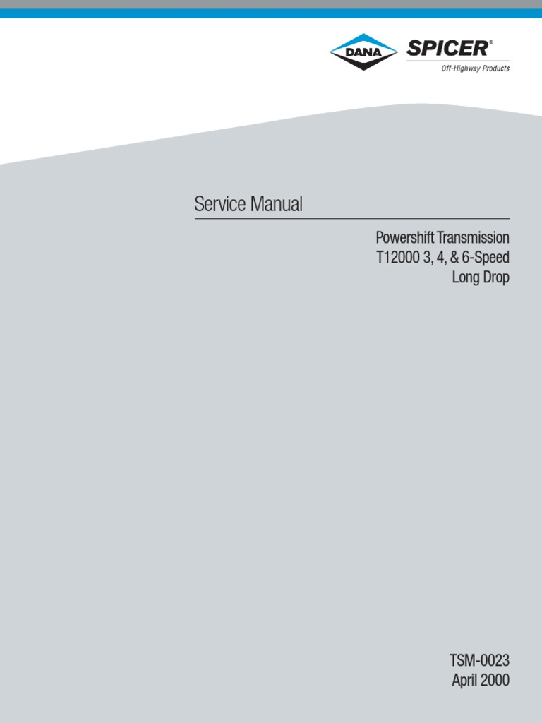 Powershift Transmission   Manual Transmission   Clutch