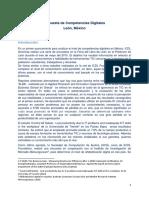 Informe Encuesta de Competencias Digitales - Leon, Mexico 1