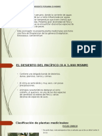 Plantas Medicinales en las Ecorregiones del Perú