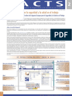 Factsheet 2 - Su Enlace Con La Seguridad y La Salud en El Trabajo