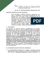 APD, Impugnación Derogación Plan Específico