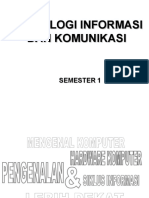 Pengantar TeknologiInformasi Komunikasi