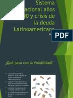 Sistema Internacional Años 80-90 y Crisis de La