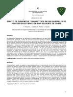 EFECTO DE ELEMENTOS TENSOACTIVOS EN LAS VARIABLES DE PROCESO EN EXTRACCIÓN POR SOLVENTE DE COBRE.pdf