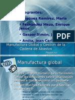 DIAPOSITIVAS - Manufactura Global y Gestion de La Cadena de Abastos