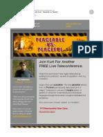 Kurt Kallenbach Peace vs. Peaceable
