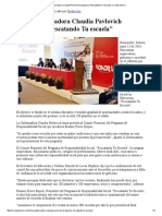 "13-06-16 Inicia Gobernadora Claudia Pavlovich programa ""Rescatando Tu escuela"" -Canal Sonora"