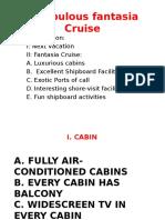 A Fabulous Fantasia Cruise