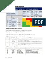 Risk Assessment Matrix (ISO)-3