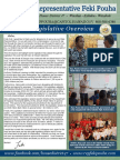 Rep. Pouha 2016 Legislative Report