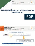 Tema 2.3 a Construção Da Democracia