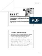 PAS 27 Consolidated and Separate FS Reviewed
