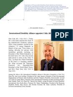 July 2016 - Colin Allen IDA Chair