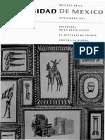 (R) Revista de La Universidade de Mexico (1961)